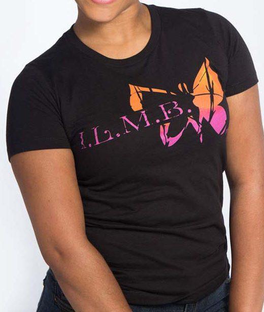 ILMB Distressed Logo Tee